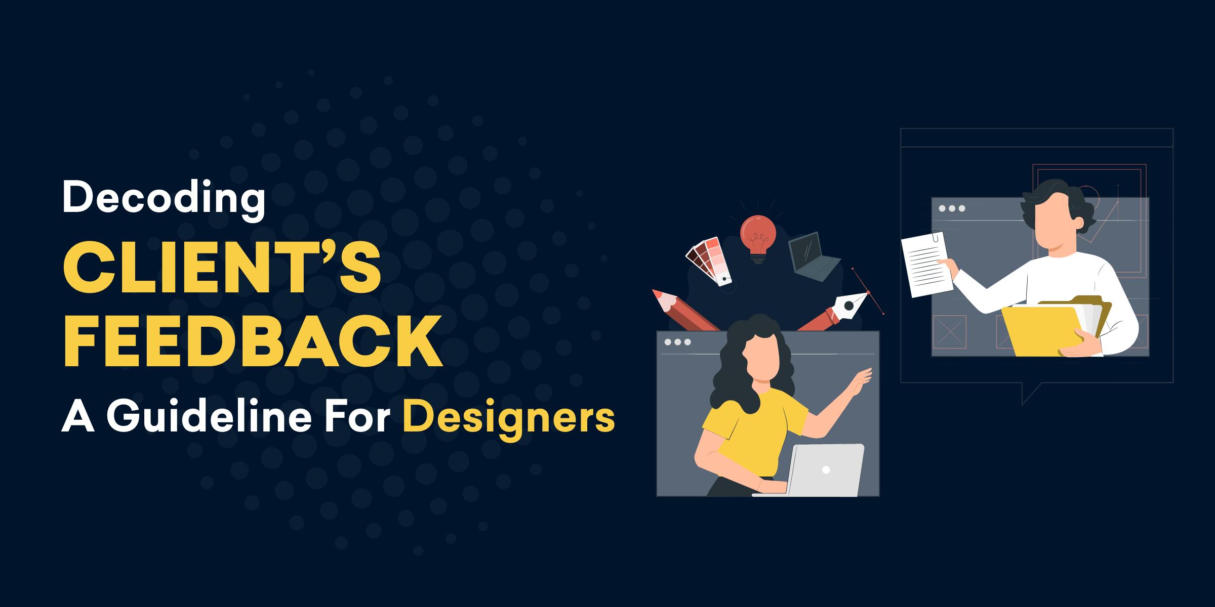 Decoding design feedback